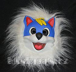 Карнавальная маска Синий кот