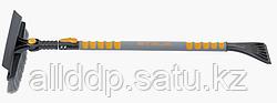 Щетка-сметка для снега со скребком телескопическая 900 - 1300 мм STELS 55301 (002)