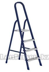 Стремянка односторонняя из стали (на 4 ступеньки) 97844 (002)