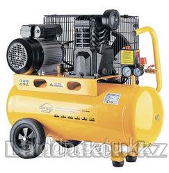 Компрессор PC 2/50-400 Х-PRO масляный ременный 10 бар производительность 400 л/мин 2,3 кВт DENZEL 58094 (002)