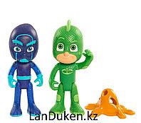 Детские игрушки Герои в масках Pj Masks (2 фигурки Гекко и Ночной Ниндзя)