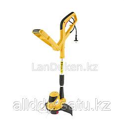 Триммер электрический ТЕ-550 с телескопической штангой, катушка+диск 300 мм 550 Вт 96608 Denzel (002)
