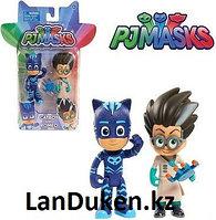 Детские игрушки Герои в масках Pj Masks (2 фигурки Ночной Ниндзя и Кэтбой)