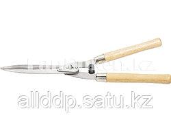 Кусторез с волнистыми лезвиями деревянной рукояткой 52 см PALISAD 608375 (002)