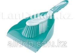 Набор совок (23х24,5 см) и щетка сметалка (28 см) ELFE 93309 (002)