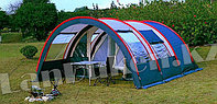Палатка люкс с коридором и шатром TUOHAI СТ-3017 4-х местная (220+130+420)*300* h210)