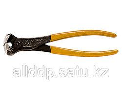 Клещи торцевые с обрезиненной рукояткой 200мм. Sparta Black Head 179385 (002)