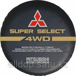 Чехол для запасного колеса Mitsubishi