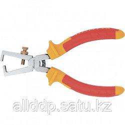Клещи для снятия изоляции Insulated, 160мм, двухкомпонентные рукоятки MATRIX 17717 (002)