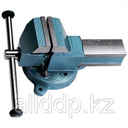 Тиски слесарные, 100 мм, поворотные (Глазов) СИБРТЕХ 18663 (002)