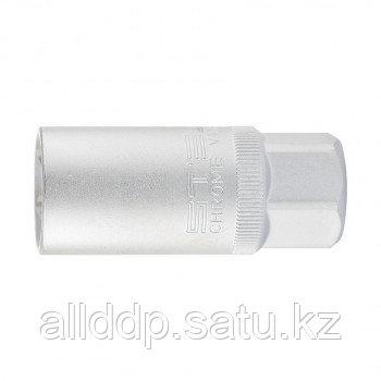 "Головка торцевая свечная, 12-гранная, 21 мм, под квадрат 1/2"" STELS 13637 (002)"