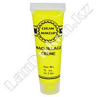 Краска для грима Cream Makeup Maquillage Creme (желтая)