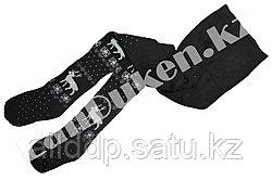 Детские теплые колготки Alena 9-11 лет черные