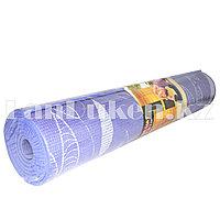 Коврик для йоги и фитнеса (йогамат) 6 мм принт лепестки