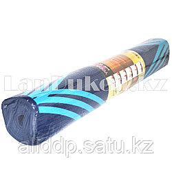 Коврик для йоги и фитнеса (йогамат) 4 мм принт линии