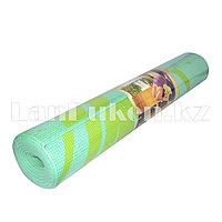Коврик для йоги и фитнеса (йогамат) 5 мм принт пальма