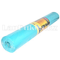 Коврик для йоги и фитнеса (йогамат) 4 мм бирюзовый гладкий