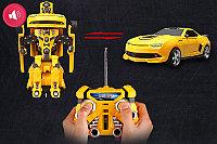 Автобот трансформер Бамблби с пультом управления TT661