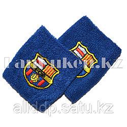 Напульсник на запястье синий Real FC Barcelona