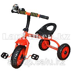 Детский трехколесный велосипед (71*42*56 см) красный