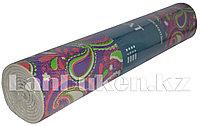 Коврик для йоги и фитнеса (йогамат) 6 мм фиолетовый турецкий огурец