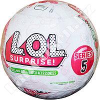 Кукла-сюрприз в шарике LOL Surprise! серия 5 (с блестками)