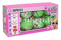 Кукла-сюрприз в шарике LOL Surprise! Lil Sisters Упаковка 8 штук