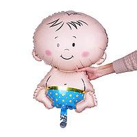 Фольгированный шар Мальчик 75 см