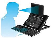 Охлаждающая подставка кулер для ноутбука X-710 с 5 положениями