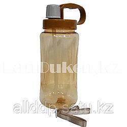 Бутылочка для воды большая 1500 мл с ремешком