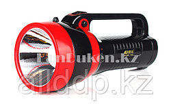 Ручной аккумуляторный светодиодный фонарь с боковым освещением KM-2626