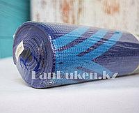 Коврик для йоги и фитнеса (йогамат) 3 мм принт линии