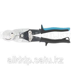 """Кабелерез """"PIRANHA"""", 240мм, двухкомпонентные рукоятки,диаметр кабеля до 14мм,сечение 14мм2 //GROSS 78450 (002)"""