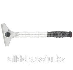 Скребок, 100 мм, фиксированное лезвие удл. металлическая обрезиненная ручка// Matrix 79550 (002)