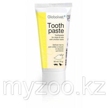 Globalvet Tooth Paste, Глобалвет Зубная паста со вкусом цыпленка, 75 гр.