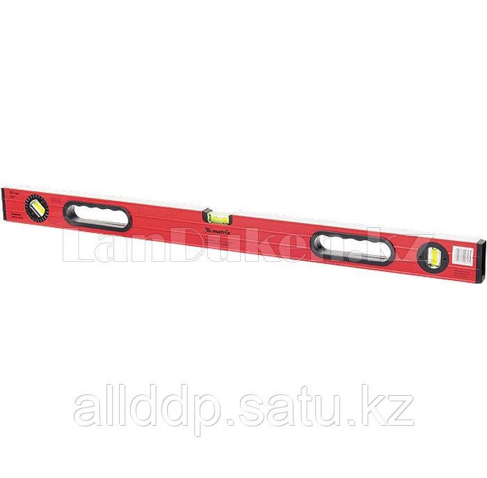 Уровень алюминиевый, 1500 мм, фрезерованный, 3 глазка (1 поворотный), две ручки, усиленный 34515 (002)