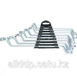 Набор ключей накидных, 6–22 мм, 8 шт., хромированные 153755 (002)