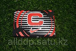Футбольная капитанская повязка черный