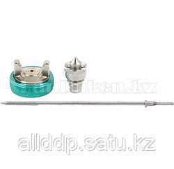 Набор для краскораспылителя AS802HVLP: сопло 1,7мм, игла, чашка 57342 (002)