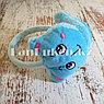 Меховые наушники детские с кошками голубые, фото 2