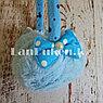 Меховые наушники детские с бантиком голубые, фото 5