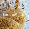 Меховые наушники детские с бантиком коричневые, фото 5