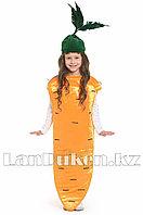 Карнавальный костюм детский овощи и фрукты 24-32р (морковь)