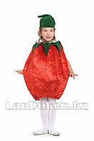 Карнавальный костюм детский овощи и фрукты 24-32р (помидор)