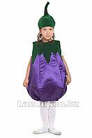 Карнавальный костюм детский овощи и фрукты 24-32р (баклажан)