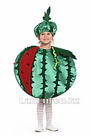 Карнавальный костюм детский овощи и фрукты 24-32 р (арбуз)