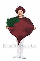 Карнавальный костюм детский овощи и фрукты 24-34 р (свекла)