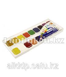"""Краски для рисования акварельные медовые """"Луч"""" 18 цветов без кисточки"""