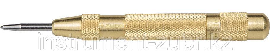 """Кернер ЗУБР """"ЭКСПЕРТ"""" автоматич,износостойкий наконечник из Cr-Mo стали группы А,59HRC,длина 125мм,2,4мм, фото 2"""