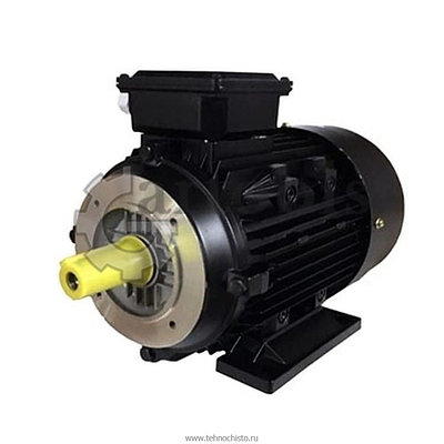 Электродвигатели Италия (RAVEL) Мотор H112 HP 7.5 4P MA AC KW 5,5 4P (внешний вал)